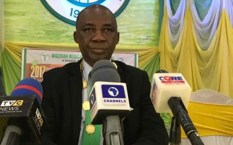 NMA PRESS CONFERENCE TO MARK THE 2017 PHYSICIANS' WEEK HELD AT ILORIN ON OCTOBER 23RD 2017