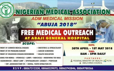 Abuja 2018: Free Medical Outreach at Abaji Central Hospital
