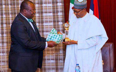 NMA President's Speech During NMA leadership's Congratulatory Visit To Buhari