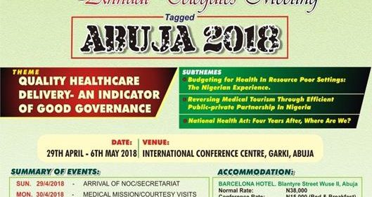 2018 Annual General Conference and Delegates Meeting: Abuja 2018