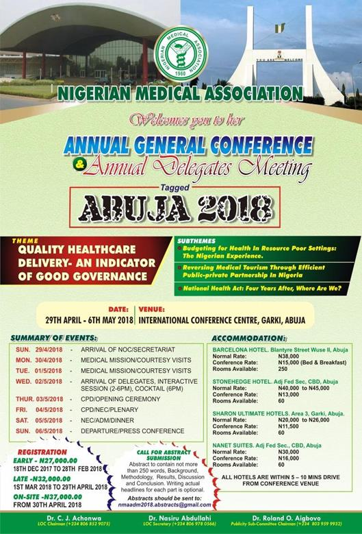 2018 Annual General Conference and Delegates Meeting: Abuja