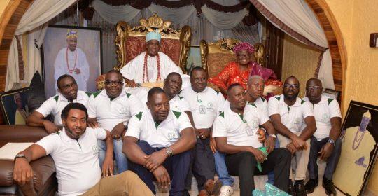 Physicians' Week 2019: Courtesy visit to Oba George Benson Faduyile of Ikale Kingdom