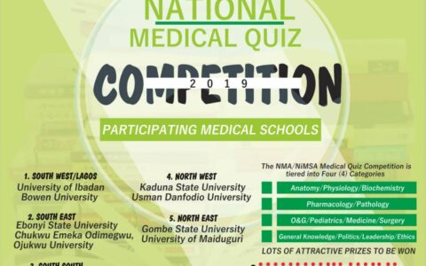 REPORT OF THE NMA NATIONAL QUIZ COMPETITION