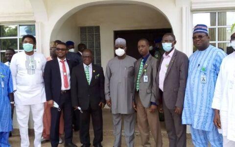 NMA Leadership Visits Deputy Governor of Nasarawa State