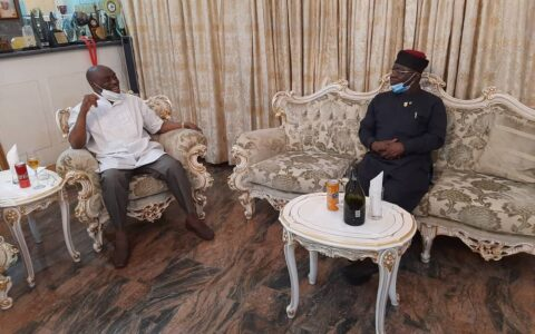 NMA President visits Former Governor of Rivers State