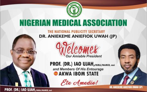 NMA PRESIDENT PAYS A 2-DAY OFFICIAL VISIT TO AKWA IBOM STATE.