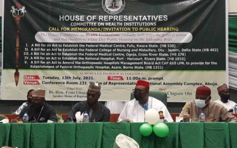 FIRST VICE PRESIDENT LEADS NMA DELEGATION TO PUBLIC HEARING AT NATIONAL ASSEMBLY.