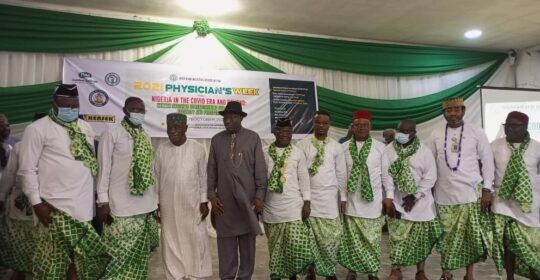 OPENING CEREMONY OF PHYSICIANS' WEEK 2021 HOLDS IN UYO.